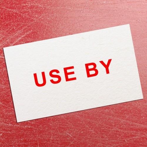 Use By Price Gun Label 26mm x 16mm (per roll)