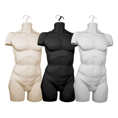 Male Hanging Body Form Full Torso Heavy Duty
