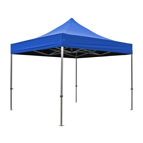 S50 Ultra Heavy Duty Aluminium Pop Up Gazebo Royal Blue Roof