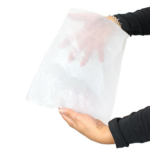 Polythene Bags with Lip 10 Micron High Density Demo