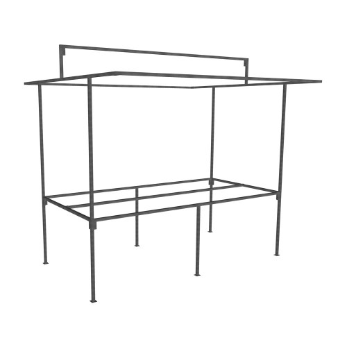 Basic Traditional Market Stall Frame Only Traditional