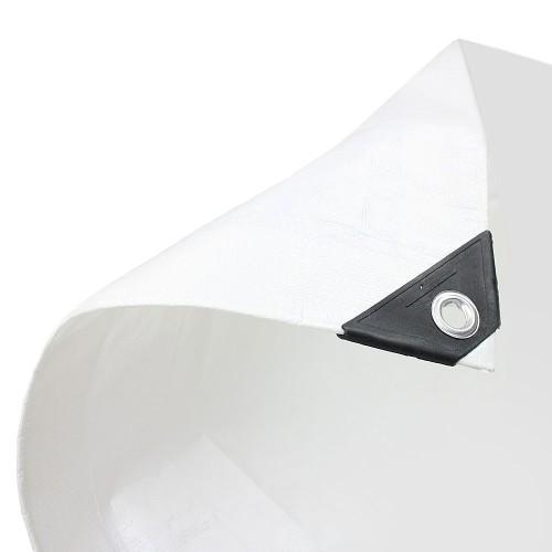 White Tarpaulin Medium Duty