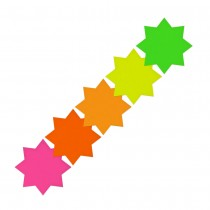 Fluorescent Star 105mm (4in)