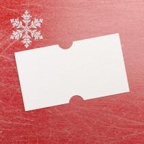 Freezer Proof Blank Price Gun Label 21mm x 12mm White (per roll)