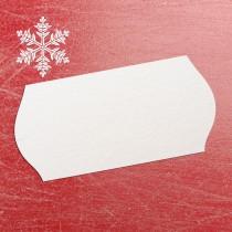Freezer Proof Blank Price Gun Label 26mm x 12mm White