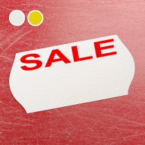 Price Gun Label 26mm x 12mm Sale