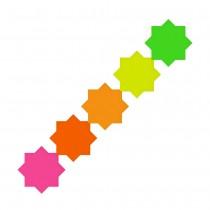 Fluorescent Star 80mm (3in)
