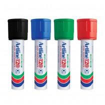 Artline 120 Marker Pen 20mm Chisel Nib
