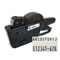 Blitz / Lynx C20A 20 Digit 2 Line Alphanumeric Price Gun Print Sample