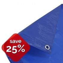 Blue Tarpaulin Medium Duty