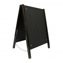 Chalk A Board Street Sign Metal Frame Large Front