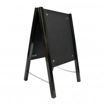 Chalk A Board Street Sign Metal Frame Small Front
