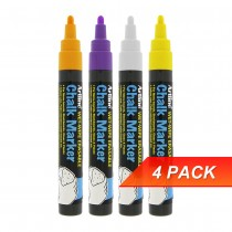 Artline EPW4 Chalk Marker Pen Bullet Nib Set 2