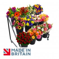 Flower Bucket Display Stand 12 Ring