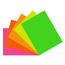 Fluorescent Rectangle 100mm x 80mm (4in x 3in)