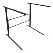 Folding Single Tier Sofa Display Stand Side