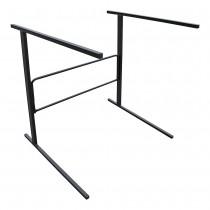 Folding Single Tier Sofa Display Stand Side