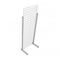 L Legs Heavy Duty for Gridwall Panels Diagram