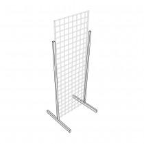 T Legs Heavy Duty for Gridwall Panels Diagram