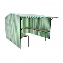Walk In Market Stall with Counters Kit