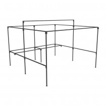 Walk In Market Stall with Rear Counter Frame Only