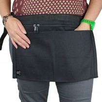 Black Denim 4 Pocket Money Belt Demo