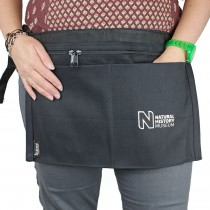 Embroidered Bunse 4 Pocket Money Belt Black Demo
