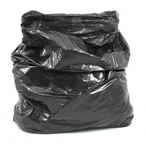 Strong Black Refuse Sack Bin Bags Boxed (Per 200)