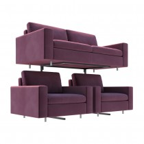 Single Tier Sofa Display Stand Side