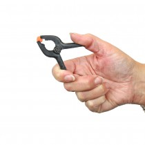 20mm Plastic Spring Clamp Hand
