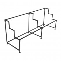 Large Step Display Unit 3 Step Frame