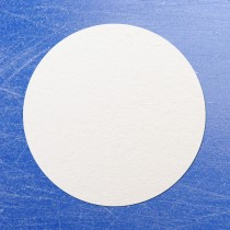 Circular Sticko Self Adhesive Labels White