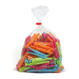 Clear Polythene Bags 25 Micron Low Density