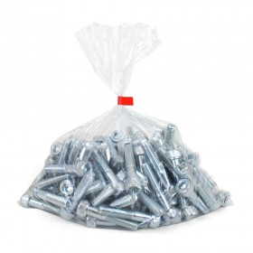 Clear Polythene Bags 125 Micron Low Density 600mm x 920mm (24in x 36in) 50 per pack