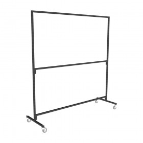 Ultra Heavy Duty Double Tier Clothes Rail