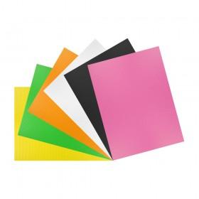 Corrugated Plastic Card 250mm x 220mm (9.5in x 8.5in) 6 Pack