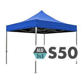 S50 Ultra Heavy Duty Aluminium Pop Up Gazebo 3.0m x 3.0m (10ft x 10ft)
