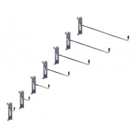 Gridwall Single Prong Hook 90 degree