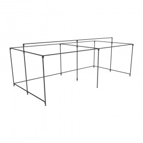 Large Walk In Market Stall Ground Rail frame only