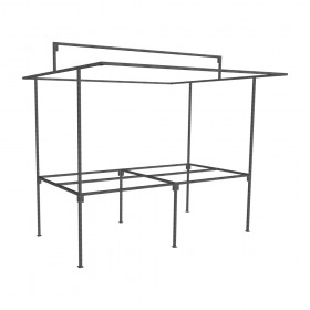 Standard Traditional Market Stall frame only
