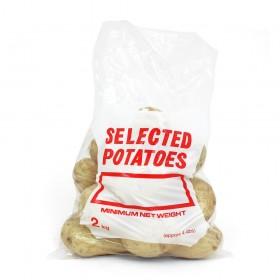 Clear Potato Bags