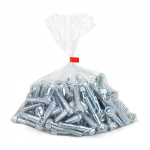 Clear Polythene Bags 125 Micron Low Density 600mm x 920mm (24in x 36in) Per 50