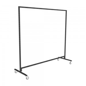 Heavy Duty Single Tier Junior Clothes Rail 1