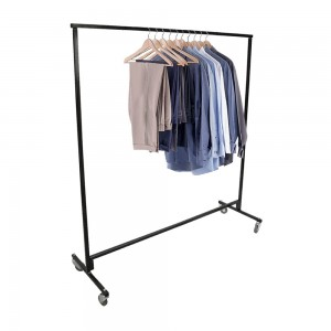 Heavy Duty Single Tier Junior Clothes Rail 3