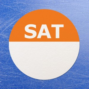 Circular Self Adhesive Week Day Dot Food Labels Saturday