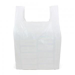Giant White Vest Carrier Bags