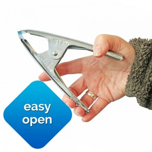 Bishop Easy Open 50mm Metal Spring Clamp Market Stall Clip