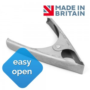 Soft Spring 50mm Metal Spring Clamp Market Stall Clip Made in Britain