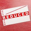 Reduced Was / Now Price Gun Label 26mm x 16mm (per roll)