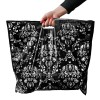 Damask Pattern Carrier Bags Low Density Hand Fashion
